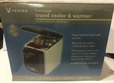 VECTOR 12 Volt DC Mini Console Travel Cooler and Warmer VEC222 1.3 gal capacity