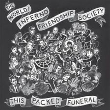 World/Inferno Friendship Society This Packed Funeral Vinyl LP Record & MP3! NEW!
