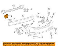 TOYOTA OEM 12-17 Yaris Rear Bumper-Mount Arm Left 5218252160