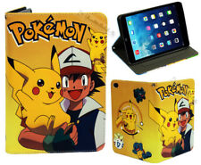 For Apple iPad mini 1 2 3 4 Great Pokemon Pikachu Anime Manga Stand Case Cover