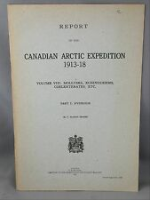 Canadian Arctic Expedition 1913-18  Vol VIII Mollusks Echinoderms Coelenterates