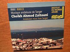 Sheikh Ahmed Zaitouni  - Andalusian Music from Tangier [CD Album] Marokko ARABE