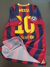 Match Un Worn Shirt LEO MESSI FC Barcelona 2013/2014 Champions League