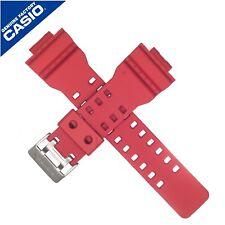 Genuine Casio Watch Strap Band for GDF-100-4 GDF 100 4 GDF100 RED 10386346