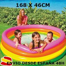 Intex piscina hinchable para niños x Ø168 x 46 cm altura + parche reparacion