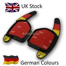 Bandera Alemana Colores Paleta cambio Extensiones Audi Volante Shifters Alemania