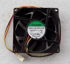 Sunon 80mm x 25mm Server Grade Fan 3 Pin Dual Ball Bearings EE80251B1-0000-G99