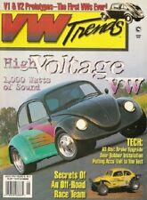 VW TRENDS 1996 AUG - V1 & V2 HISTORY, SWEET '64 21 WINDOW, A3 BRAKE UPGRADE