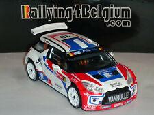 1/43 IXO Citroen DS3 R5 #10 ERC Rally Ieper Ypres 2014 Verschueren RRS217