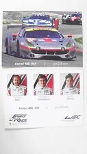 CARD WEC / LE MANS SERIES NÜRBURGRING 2017 : SPIRIT OF RACE FERRARI #54