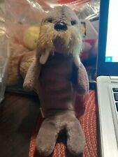 Ty Rare Jolly Walrus 4082 Beanie Baby 1996, with several Errors