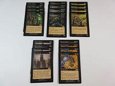 Lot of 20 Black Magic the Gathering Rares Exodus 1998 WotC NM/SP