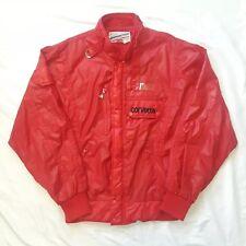 Vintage CORVETTE Formula 1 Grand Prix Red Full Zip Jacket Int'l Race & Rally