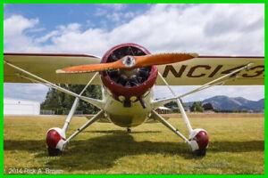 1934 Fairchild 24 C8C Single Engine Fairchild 2399.Hours