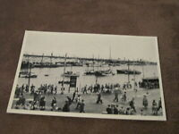 Real photographic postcard - Harbour & Sailing boats - Ramsgate - Thanet Kent