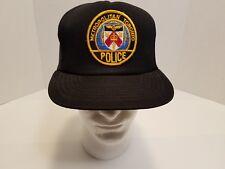 VTG Metropolitan Toronto Canada Police Trucker Snapback Hat Black International