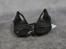 Crocs Women's Isabella Huarache 2 Flat W Sandal Ballet Size 4 Black