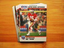 Super Bowl San Francisco 49ers Team Set - Joe Montana