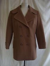 "Ladies Coat - Devonshire Lady, size 18, 100% wool, 39/40"" bust, brown - 2144"