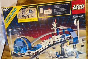 LEGO 6990 Futuron Monorail Transport System, W/ Box & Instructions