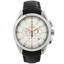 Omega 231.13.44.50.02.001 Seamaster Aqua Terra Mens Chronograph Watch New in Box