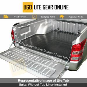 Toyota Hilux Dual Cab SR5 A-Deck and J-Deck Rubber Ute Mat  - April 2005 to 2015
