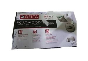 Delta Portwood Single-Handle 5-Spray Tub and Shower Faucet Brushed Nickel