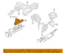 VW VOLKSWAGEN OEM 99-05 Jetta-Engine Motor Mount Torque Strut 1J0199262BF
