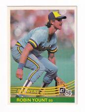 1984 Donruss Robin Yount BV$5! SCARCE & SWEET!