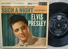 Elvis Presley - Such A Night - 1960 Extended Play - Excellent-  E.P - RCX 190
