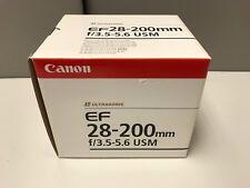 Canon EF 28-200mm F/3.5-5.6 USM Lens ( OL 77548)