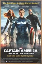 CAPTAIN AMERICA THE WINTER SOLDIER DVD MOVIE POSTER 1 Sided ORIGINAL 26x40