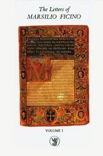The Letters of Marsilio Ficino: Volume 1