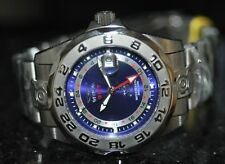 Invicta Men's Rare 5126 Pro Diver Swiss GMT Blue Dial Gunmetal Steel Watch