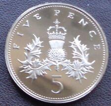 More details for 1971 - 2021 elizabeth ii decimal 5p five pence proof - choose your year