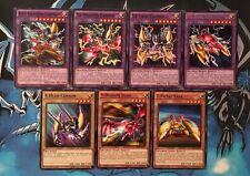 XYZ - Dragon Cannon - 7 Card Set - NM/Mint, 1st Edition, YuGiOh
