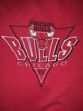 Vintage 1990s Logo 7 Chicago Bulls Sweater size medium