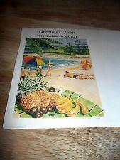 Banana Coast-1960's-Envelope-Coffs Harbour-Beach-Fab Art-One Only