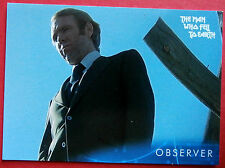 DAVID BOWIE - The Man Who Fell To Earth - Card #2 - Observer - Unstoppable 2014