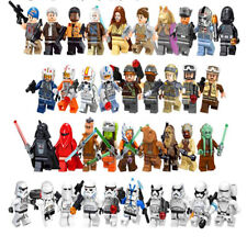 Lego Star Wars Minifigures Blocks Yoda Darth Vader  Luke Skywalker Obi Wan