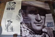"Set of Two ""The Duke"" John Wayne Posters ""In Memory of a Legend"", Dan Brewer"