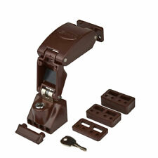 Jackloc Folding Window Restrictor Brown (JACK-FLD-BRN)