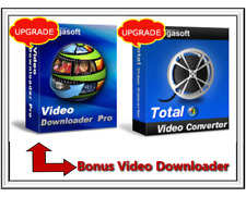 Bigasoft Total Video Converter And Bonus Video Downloader-Various Video Formats
