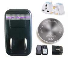 1x EU Charger + 4x LIR2032 Rechargeable Button Coin Battery + 1x UK Plug Adapter