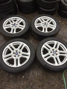Ford S Max Set Of 4 Alloy Wheels And Tyres 235/50 R18