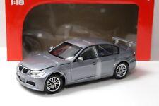 1:18 Guiloy BMW 320si E46 WTCC Test Car grey NEW bei PREMIUM-MODELCARS