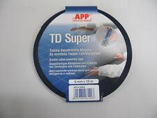 Doppelseitiges Klebeband APP TD Super 6 mm x 10 m