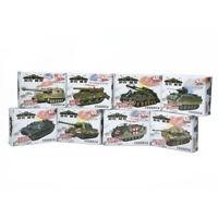 4D 8pcs Heavy Weapons Armor Assemble Tank 1/72 Plastic Model US Kit Battle Toy