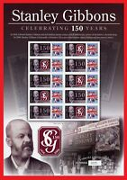 BC-089 2006 150 Years of Stanley Gibbons Limited Edition Stamp Sheet.