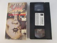 Sabbat - The End of the Beginning VHS Tape (1990, Strand VCI) RARE